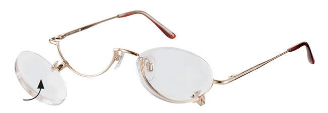 lunette loupe de maquillage verres basculant vers le bas 9121 clipdirect. Black Bedroom Furniture Sets. Home Design Ideas